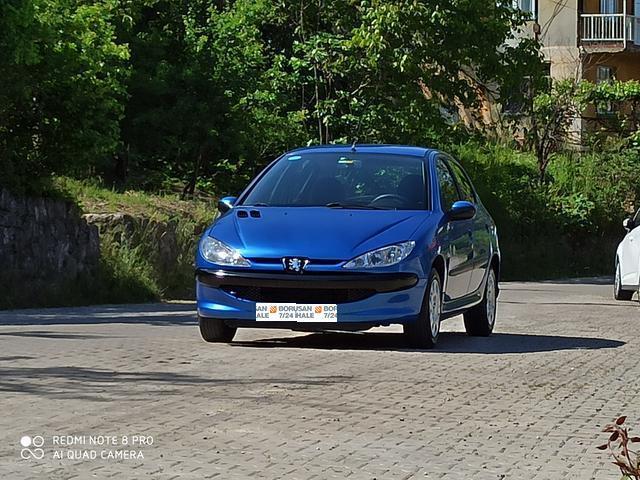 2006 Model Peugeot 206 1.4 X-Design Benzin Otomatik Hatchback / 5 Kapi 93.200 KM